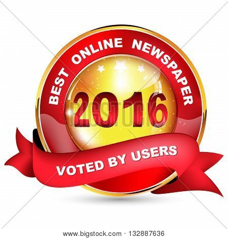 Best online newspaper 2016. Voted by users