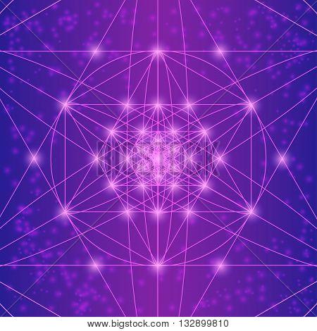 Sacred Geometry Symbols And Elements.