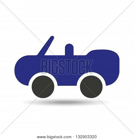 car concept isolated design, vector illustration eps10 graphic