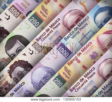 Mexican Peso Paper Bills
