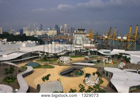 Top View Of Vivo City
