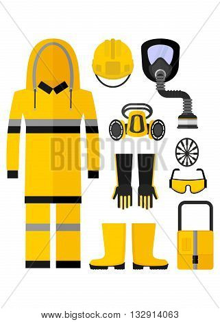 Workwear Chemical Protection Suit