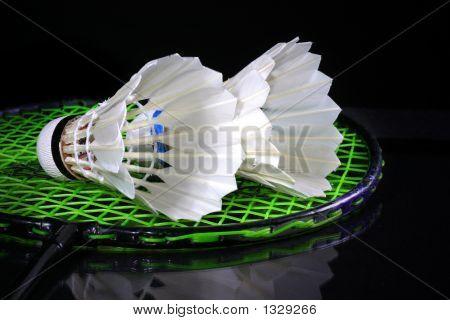 Shuttlecock And Badminton