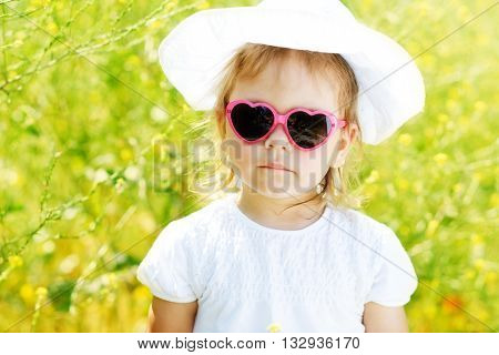 Toddler Girl  In Rape Field