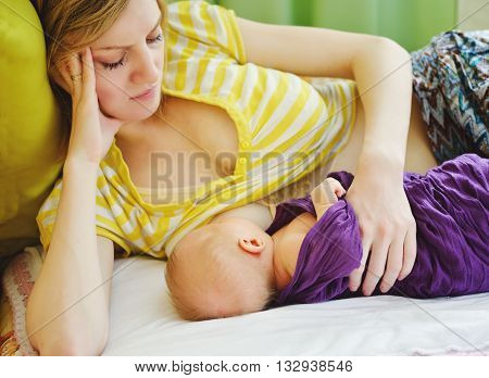 Breastfeeding Of Newborn
