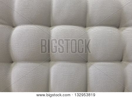 Background Pattern Closed up of Abstract Texture of Gray Fabric Textile Sofa or Upholstery Background.