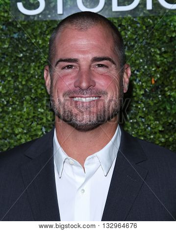 LOS ANGELES - JUN 02:  George Eads arrives to the 2016 CBS Summer Soiree  on June 02, 2016 in Hollywood, CA.