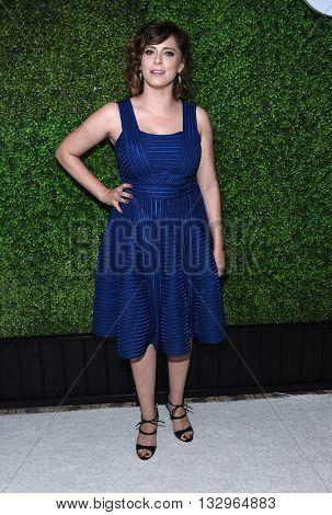 LOS ANGELES - JUN 02:  Rachel Bloom arrives to the 2016 CBS Summer Soiree  on June 02, 2016 in Hollywood, CA.