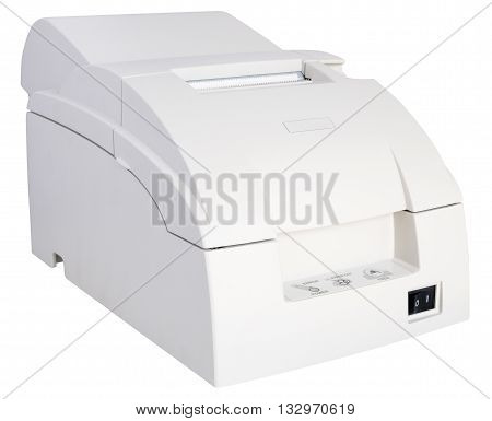 Termo printer isolated on the white background
