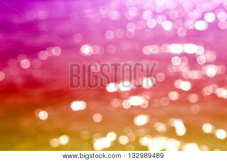 Abstract light bokeh as background, Abstract blurred background with bokeh of ligh