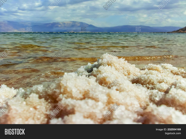 Salt Dead Sea, Israel Image & Photo (Free Trial)   Bigstock