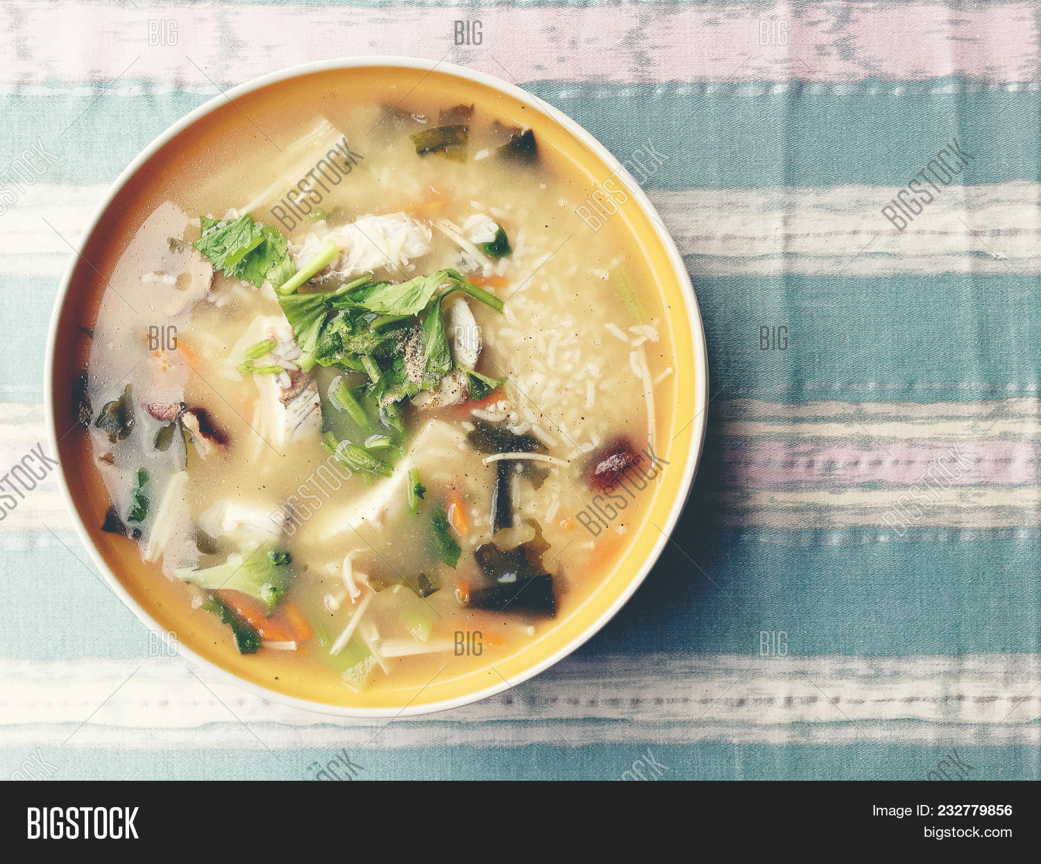 Homemade Rice Soup Image & Photo (Free Trial) | Bigstock