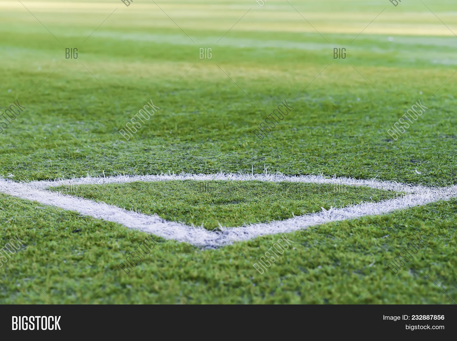 green grass football field football ground corner of the soccer field pattern green grass for football sport field image photo free trial bigstock