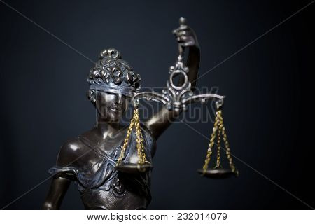 Lady Of Justice Or Themis (symbol Of Justice)