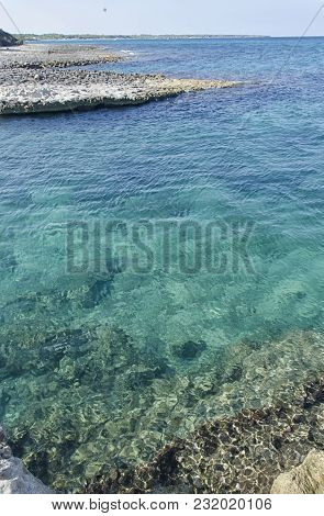 View Of The Coastline And Sea Of The Salento