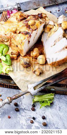 Sliced Grilled Pork Barbecue