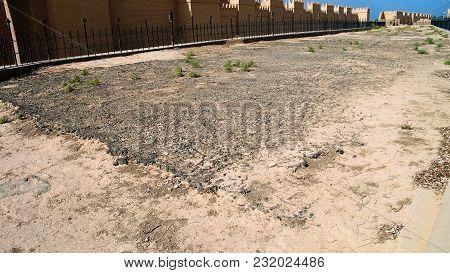 Ruins Of Processional Street Of Ancient Babylon, Hillah, Iraq