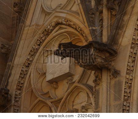 St. Vita`s Cathedral in Prague, Czech Republic travel photo