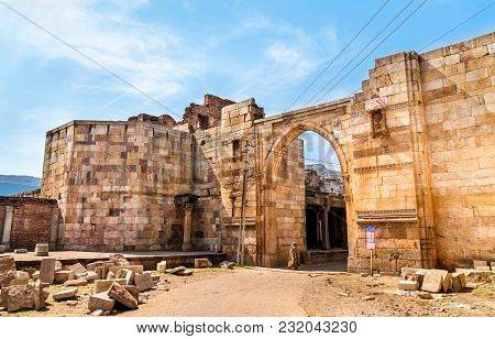 Godhra Eastern Gate Of Champaner Fort - Unesco World Heritage Site In Gujarat, India