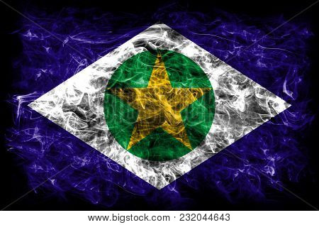 Mato Grosso Smoke Flag, States Of Brazil