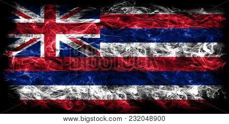 Hawaii State Smoke Flag, United States Of America