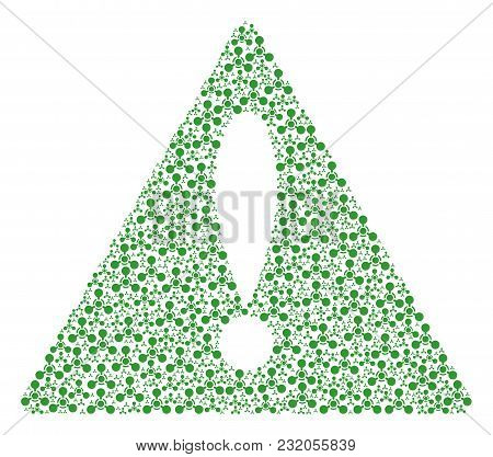 Advice Triangle Sign Pattern Organized Of Wmd Nerve Agent Chemical Warfare Pictograms.