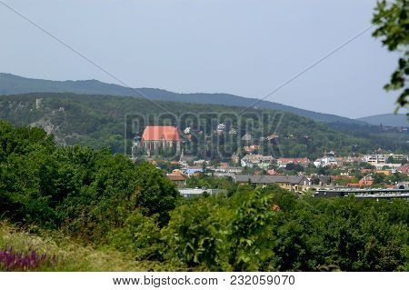 Moedling, Oak-hill, View Towards St. Othmar And Black Tower