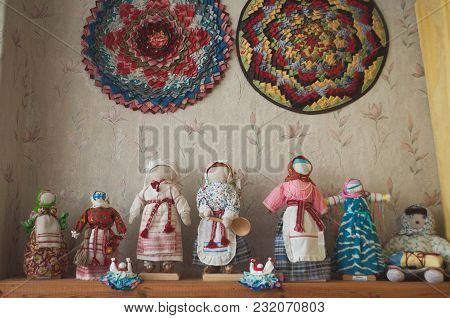 Traditional Handmade Dolls, Folk Art Exhibition, Funny Figures