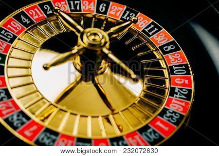 Casino Roulette. Concept About Entertainment And Gambling.