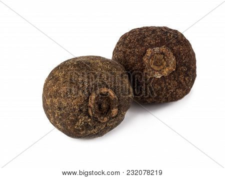 Allspice Isolated On White Background