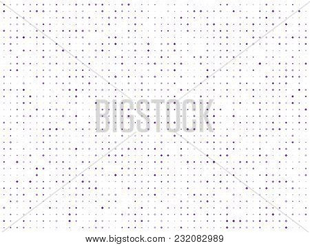 Abstract Geometric Pattern With Small Squares. Design Element For Web Banners, Posters, Cards, Wallp