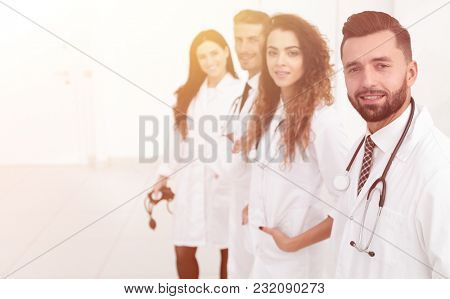 group of practitioners of the medical center
