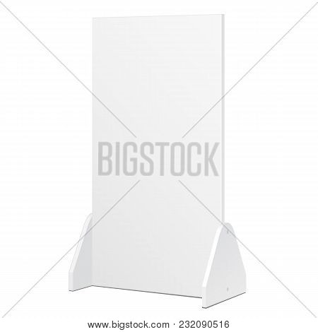 Simple Outdoor Indoor Stander Advertising Stand Banner Shield Display, Advertising. Mock Up Products