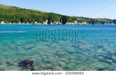 Beautiful Blue Water Bay, Crystal Clean Water