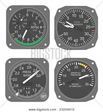 Aircraft Gauges