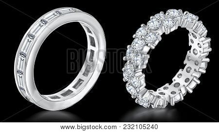 Diamond Bangles Ensue As One Of The Most Momentous Ornaments Of The Women. Women Persona Gets Enhanc