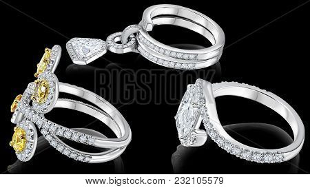 Accessories Such As Jewelry Are Often The Cherry On Top To An Overall Outfit Or Look. Elegant Pair O