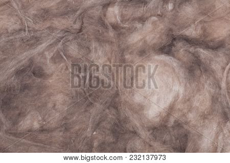 The Texture Of Mineral Wool For Insulating The Walls Insulation For The Roof And Walls Of The House