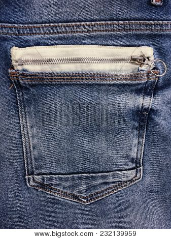 Jeans background denim jeans background with seam of jeans fashion design.
