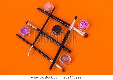 Various Shapes And Shapes. Women's Cosmetics.