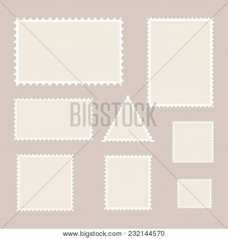 postage stamp vector photo free trial bigstock