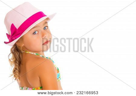 Little Girl In A Hat.