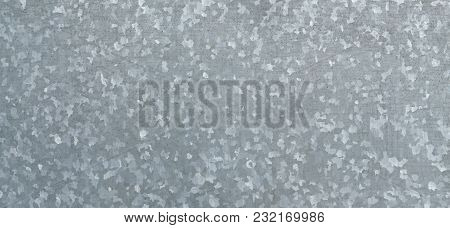 Zinc galvanized grunge metal texture may be used as background. Texture of galvanized iron roof plate background pattern poster