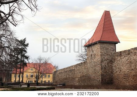 Town fortification in Swiebodzice, Poland
