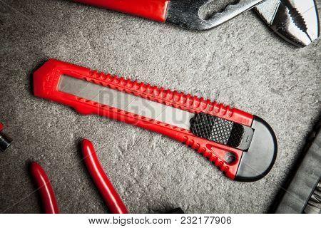 DIY Tools set - knife