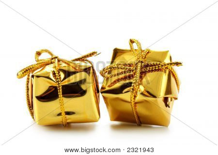 Two Golden Boxes