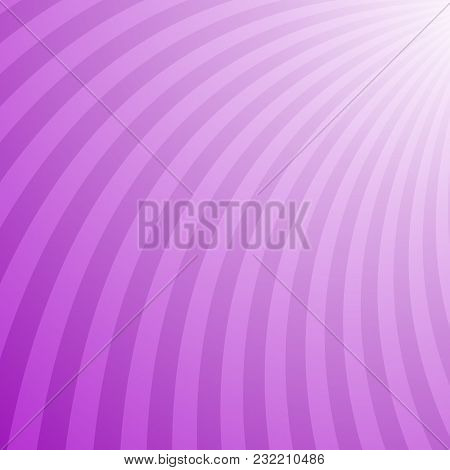 Geometric Swirl Background - Vector Graphic Design From Twisting Rays