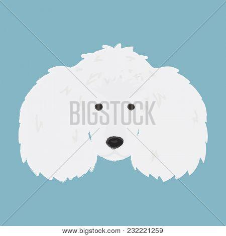 Illustration of dog face