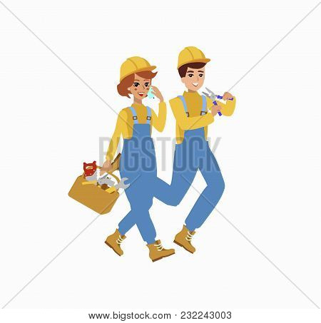 worker character vector photo free trial bigstock