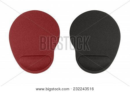Pad For Computer Mouse Isolated On White Background